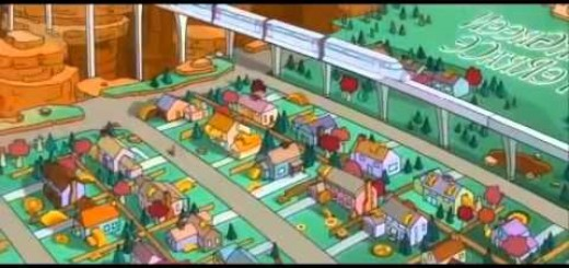 Opening de Game Of Thrones versionado por Los Simpsons