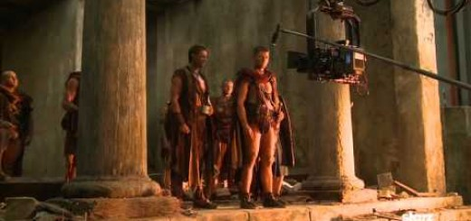 Spartacus Vengeance, video del Rodaje