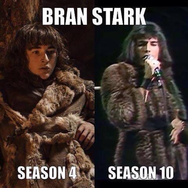 From Bran to Freddie