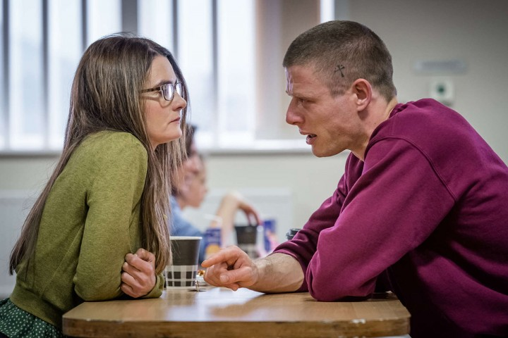 """Happy Valley"": Shirley Henderson as Frances Drummond and James Norton as Tommy Lee Royce. ( Photo: Ben Blackall / Netflix )"