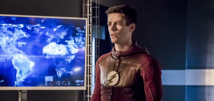 "The Flash -- ""Finish Line"" -- FLA323b_0187b.jpg -- Pictured: Grant Gustin as Barry Allen -- Photo: Katie Yu /The CW -- © 2017 The CW Network, LLC. All rights reserved."