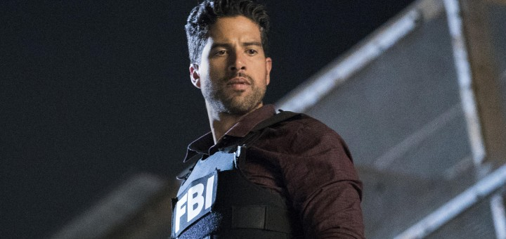 """Wheels Up"" -- Agent Matt Simmons joins the BAU team in a race to take down Mr. Scratch and save one of their own in the process, on the 13th season premiere of CRIMINAL MINDS, Wednesday, Sept. 27 at a new time (10:00-11:00 PM, ET/PT) on the CBS Television Network. Daniel Henney joins the cast as Matt Simmons, an ex-Delta soldier and former International Response Team member.  Pictured: Adam Rodriguez (Luke Alvez)   Photo: Sonja Flemming/CBS ©2017 CBS Broadcasting, Inc. All Rights Reserved"