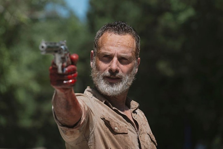 Andrew Lincoln, Rick Grimes en The Walking Dead