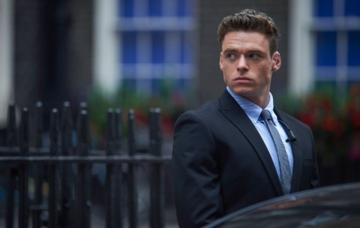 Richard Madden, David Budd en Bodyguard